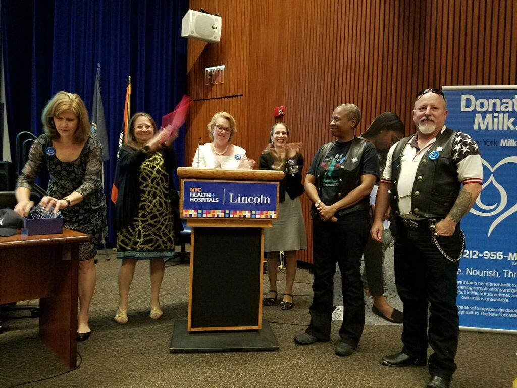 2017 NYCBC Honoring Milk Roders-SV, Theresa Landau, RRM, JBH, Cheryl Stewart, Dominic Posilippo